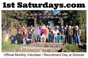 1st Saturday's  is the monthly volunteer day!